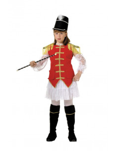 Disfraz majoret niña