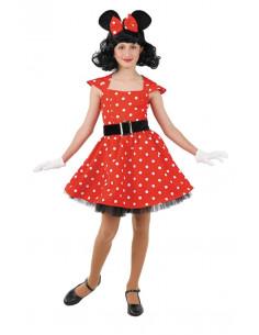 Disfraz ratita Minnie niña  Tallas-12 años