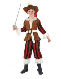 Disfraz Dartañan infantil  Modelo-Único Tallas-12 años