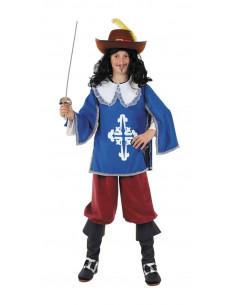 Disfraz  mosquetero infantil  Modelo-Único Tallas-6 años