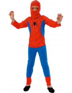 Disfraz Spiderman rojo niño