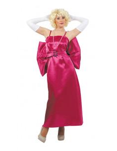Disfraz Marilyn Monroe lujo rosa