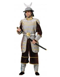 Disfraz de guerrero nipon adulto