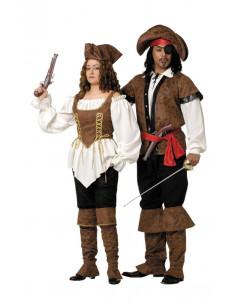Disfraces de pirata lujo hombre