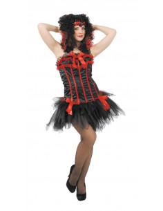 Traje con corset tutú para mujer