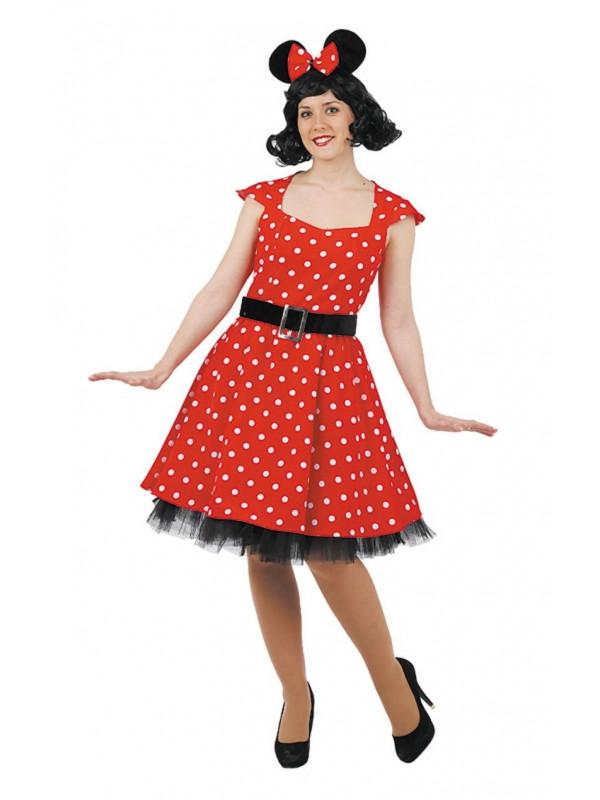 Disfraz de ratoncita mujer