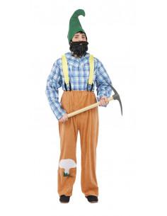 Disfraces de gnomo granjero para chico