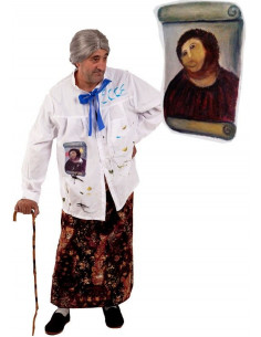 Disfraz de pintor Ecce homo
