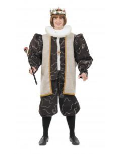 Disfraz rey medieval adulto