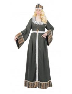 Disfraces de princesa medieval mujer