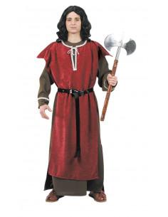 Disfraz medieval de caballero adulto