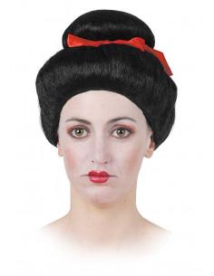 Peluca geisha