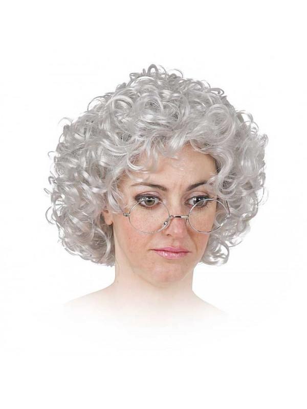 Peluca abuelita