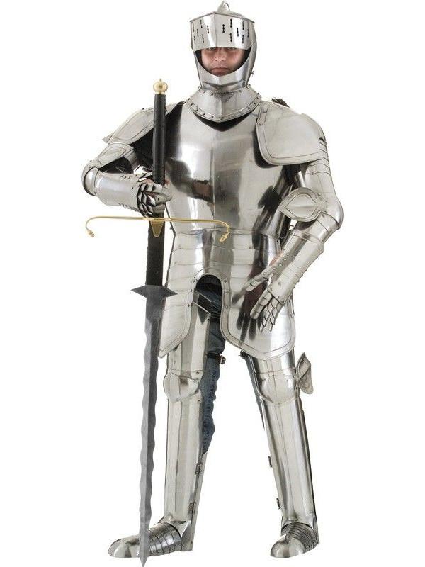Armadura medieval de hierro