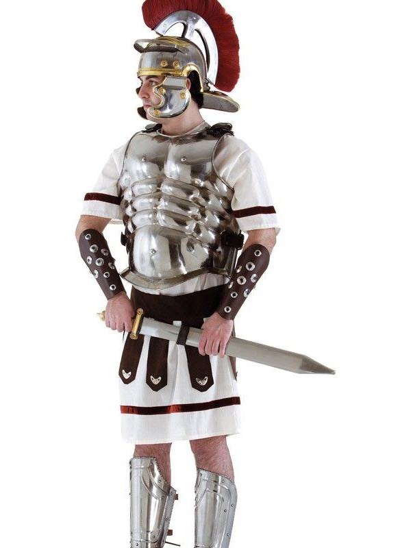 Coraza de romano de hierro
