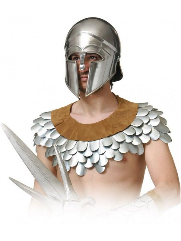 Cubrehombros escamas de hierro