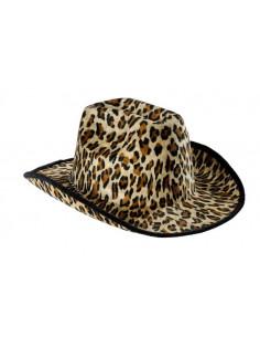 Sombrero vaquero leopardo