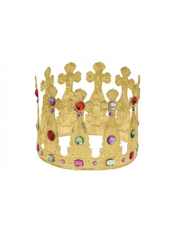 Corona de rey metal