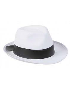 Sombrero de ganster ala corta