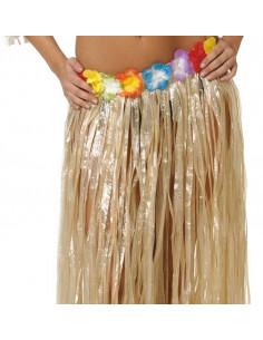 Falda corta hawaiana