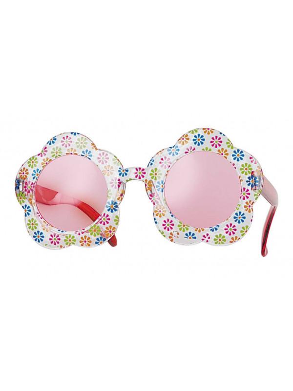 Gafas de flor