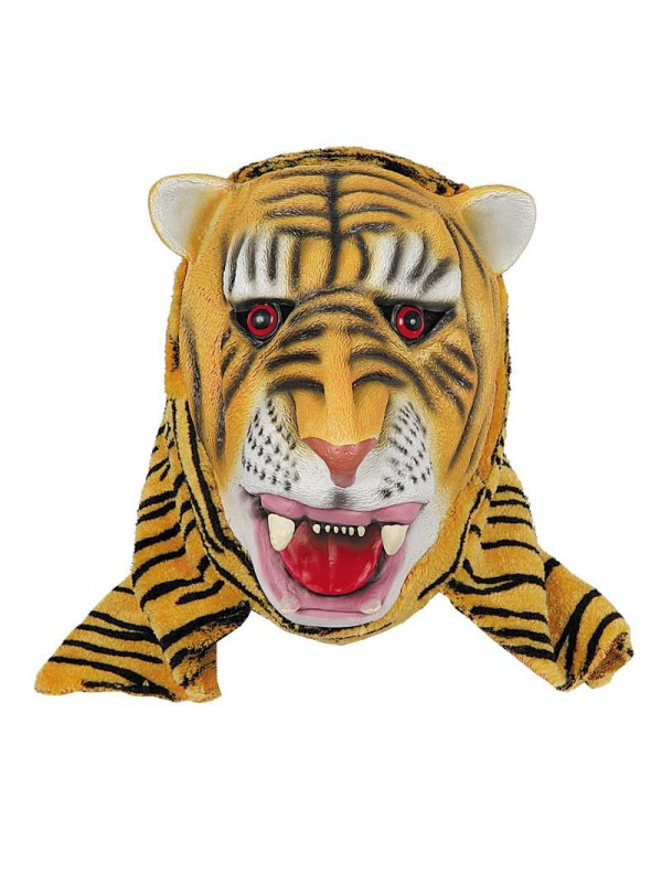 Careta de tigre latex