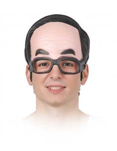 Mascara con gafas
