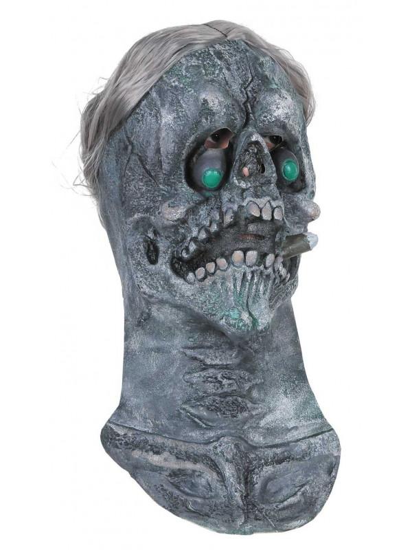 Mascara esqueleto con cabeza