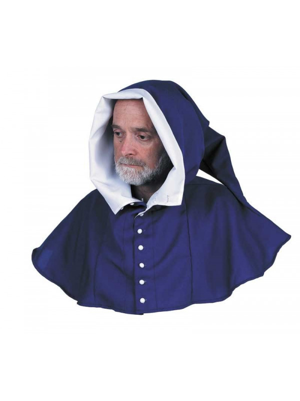 Capuchas medievales azul