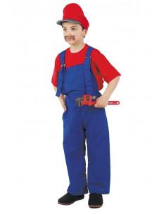 Disfraces de fontanero Mario niño