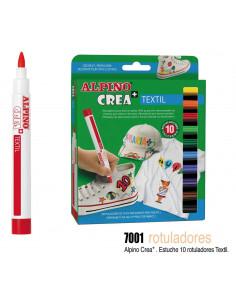 Rotuladores tinta permanente para tejido