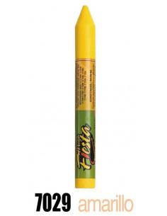 Barra maquillaje amarillo