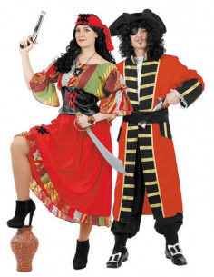 Disfraces de Piratas para Parejas
