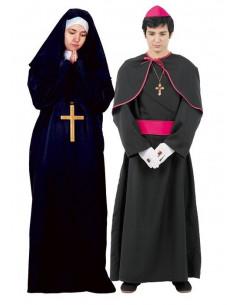 Disfraces de Monseñor y Monja para Parejas