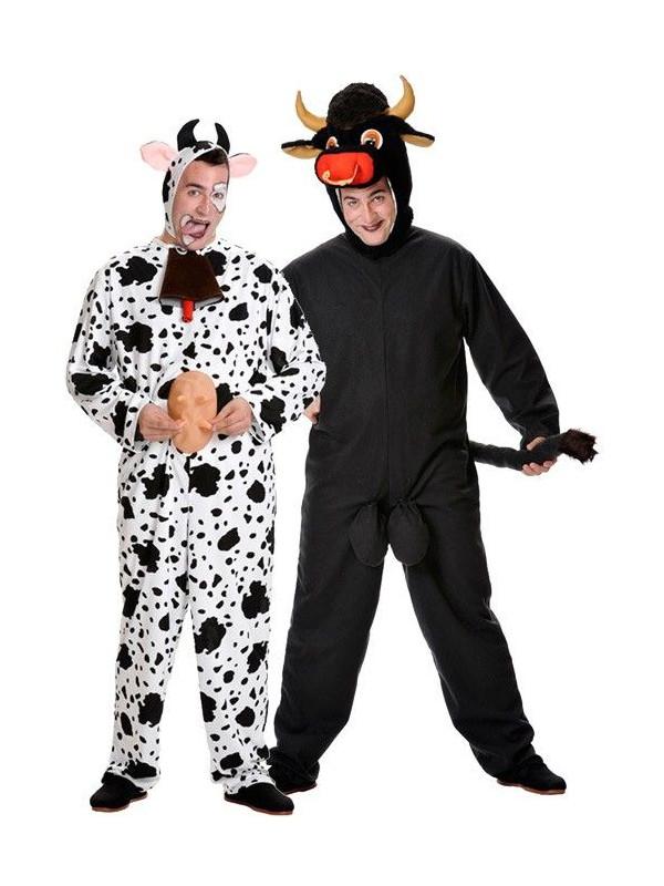 Disfraces de Toro y Vaca para Parejas
