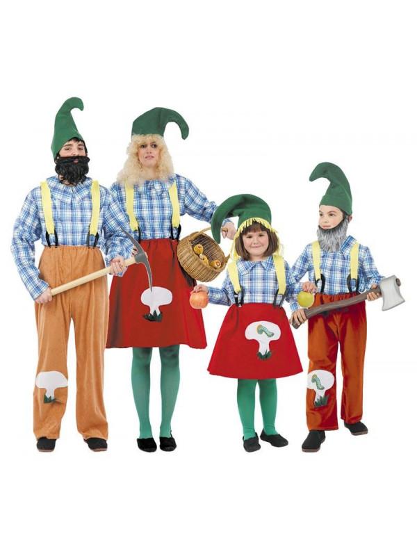 Disfraces de Gnomos para Familias