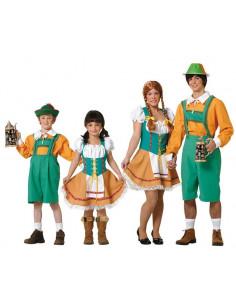Disfraces de Tiroleses para Familias