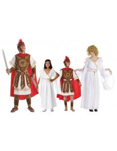 Disfraces de Romanos para Familias