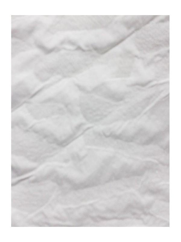 Tejido alpino pirineo adamascado blanco