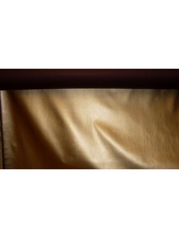 Tela de polipiel dorada