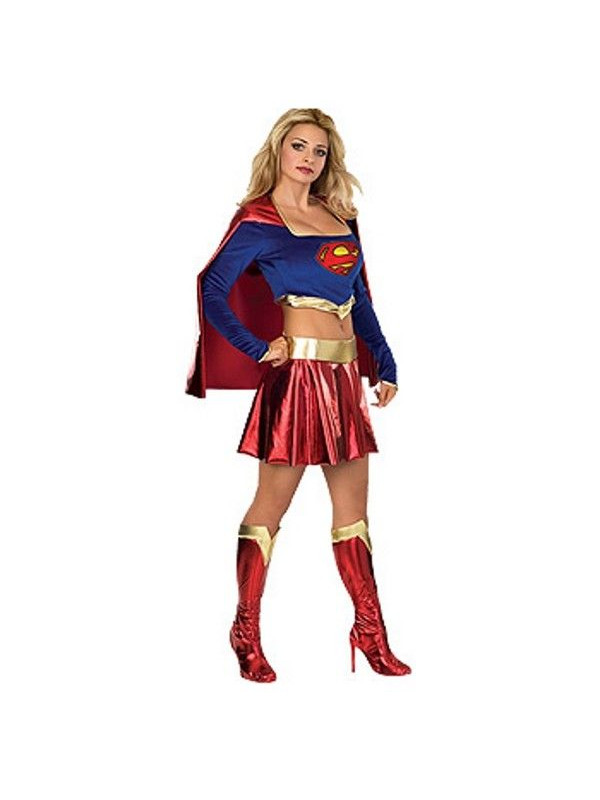 Disfraz Supergirl mujer