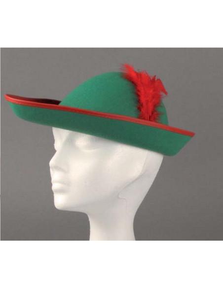 137424eb90392 Sombrero Robin Hood fieltro - Comprar en Tienda Disfraces Bacanal