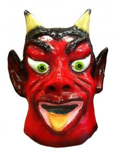 Cabezudo demonio rojo