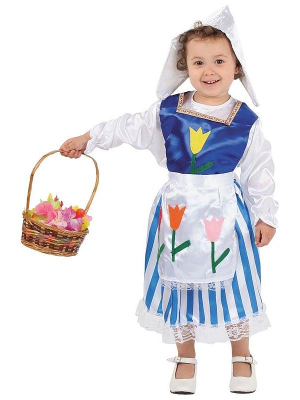 Disfraz holandesita bebe