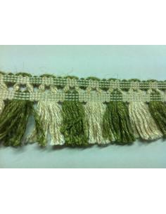 Fleco lana con pasamanería