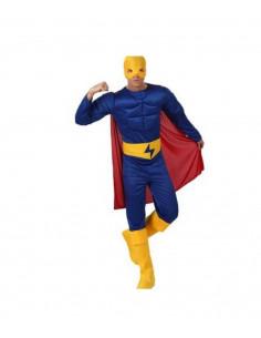 Disfraz superhéroe musculoso hombre