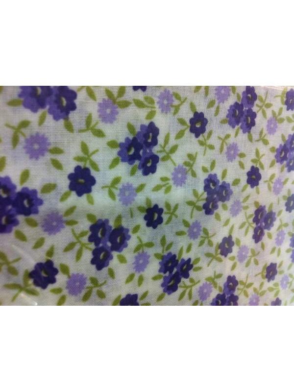 Tejido flor para patchwork