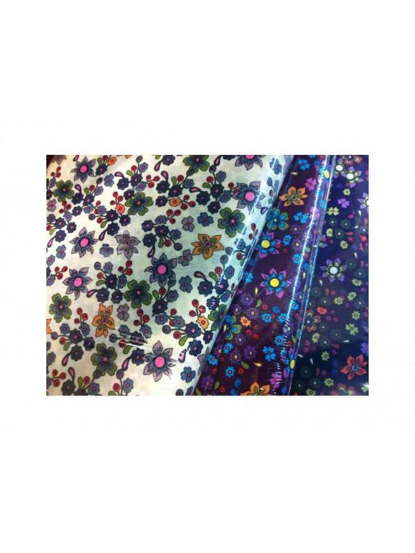 Tejido flor grande patchwork