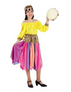 Disfraz zingara infantil