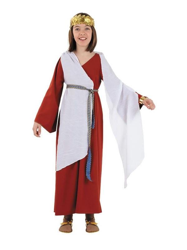 Disfraz Patricia romana niña